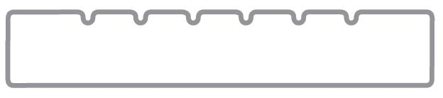 profil pin impregnat