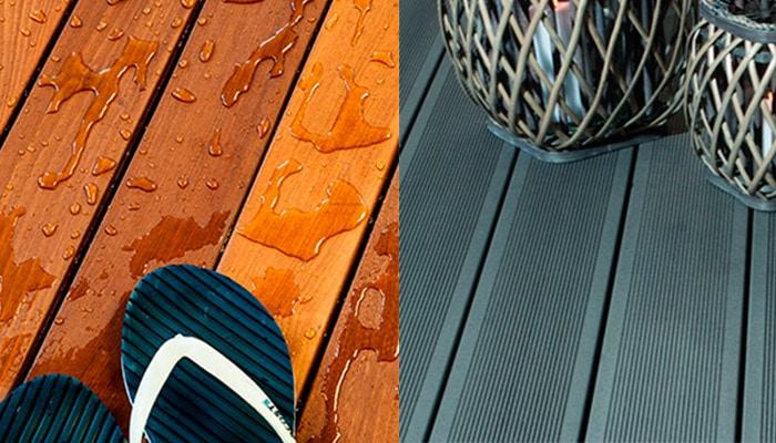 deck lemn vs compozit