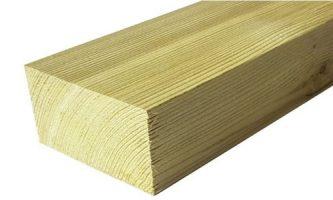 Rigla suport lemn impregnat